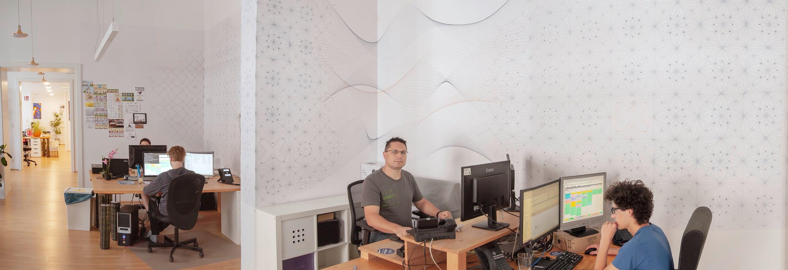 Bild aus der Netzwerk-Abteilung