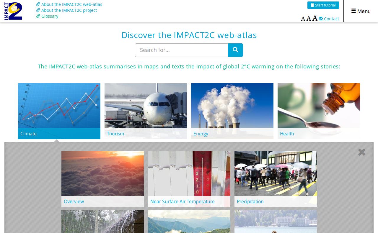 Impact2C Web-Atlas