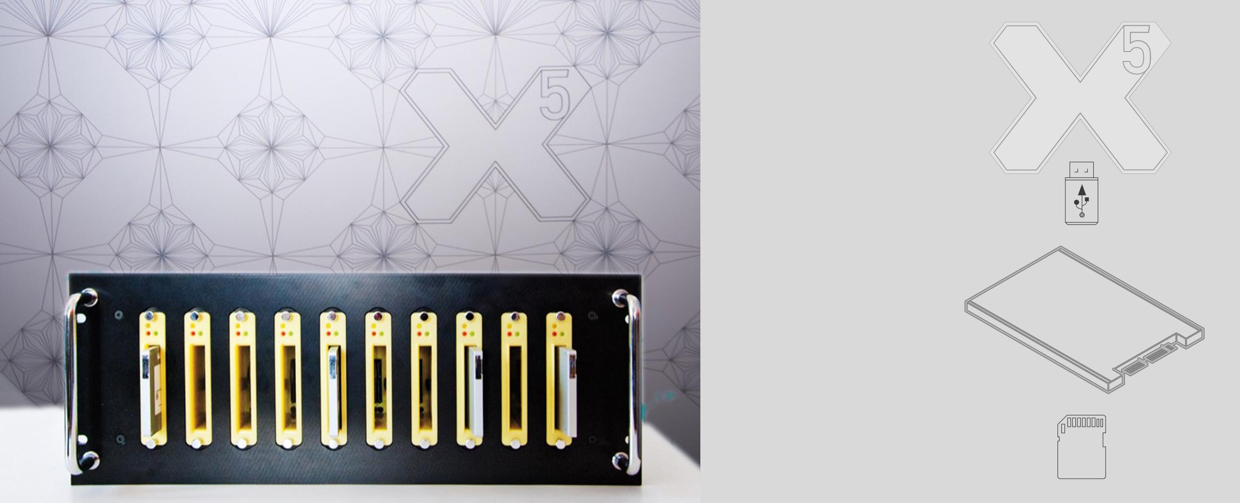 X-Net X5 SSD USB CF Kopiersystem